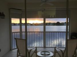 LJ porch sunset
