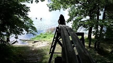 camp jim water slide
