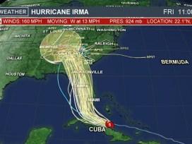 Irma track